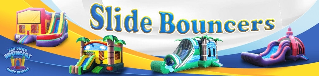 Bounce Houses with Slide Rentals