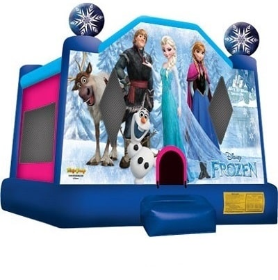 Large Frozen Bounce House Info