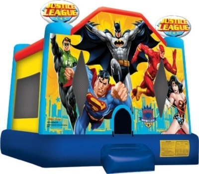 Justice League Bounce House Info