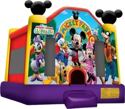 Mickey Mouse Bounce House Info