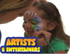 Facepainters and Entertainers