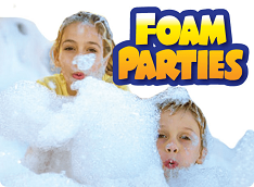 Foam Parties and Foam Pit Rentals