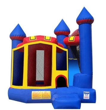 Castle Slide Bouncer Rentals