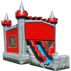 Mini Castle Slide Bouncer Rentals