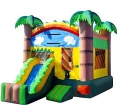 Mini Tropical Slide Bouncer Rentals