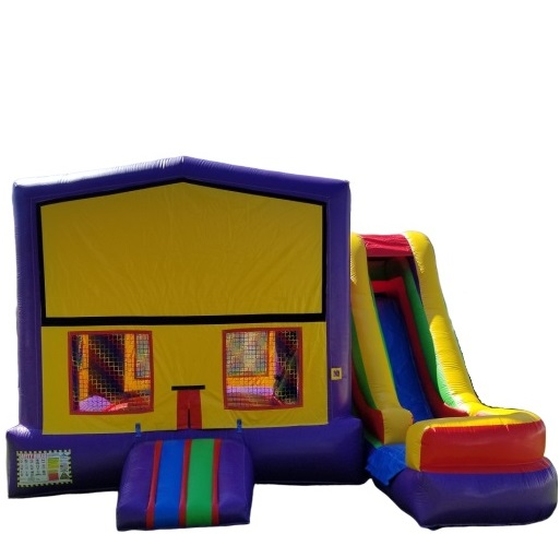 Purple Slide Bouncer Rentals