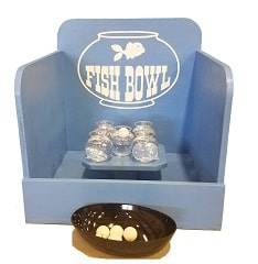 Fish Bowl Toss Game Rentals