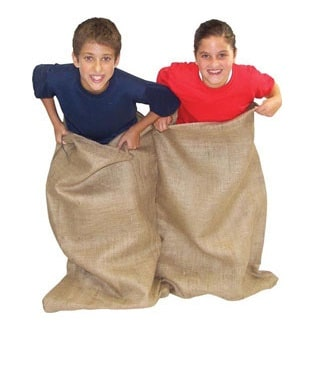 Potato Sack Race Bag Rentals
