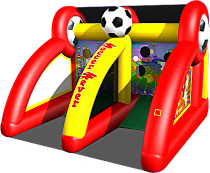 Inflatable Soccer Game Rentals