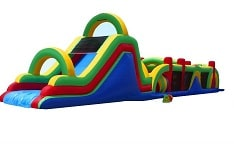 Mega 70ft Obstacle Course Rentals