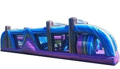 40ft Dashing Colors Obstacle Course Rentals