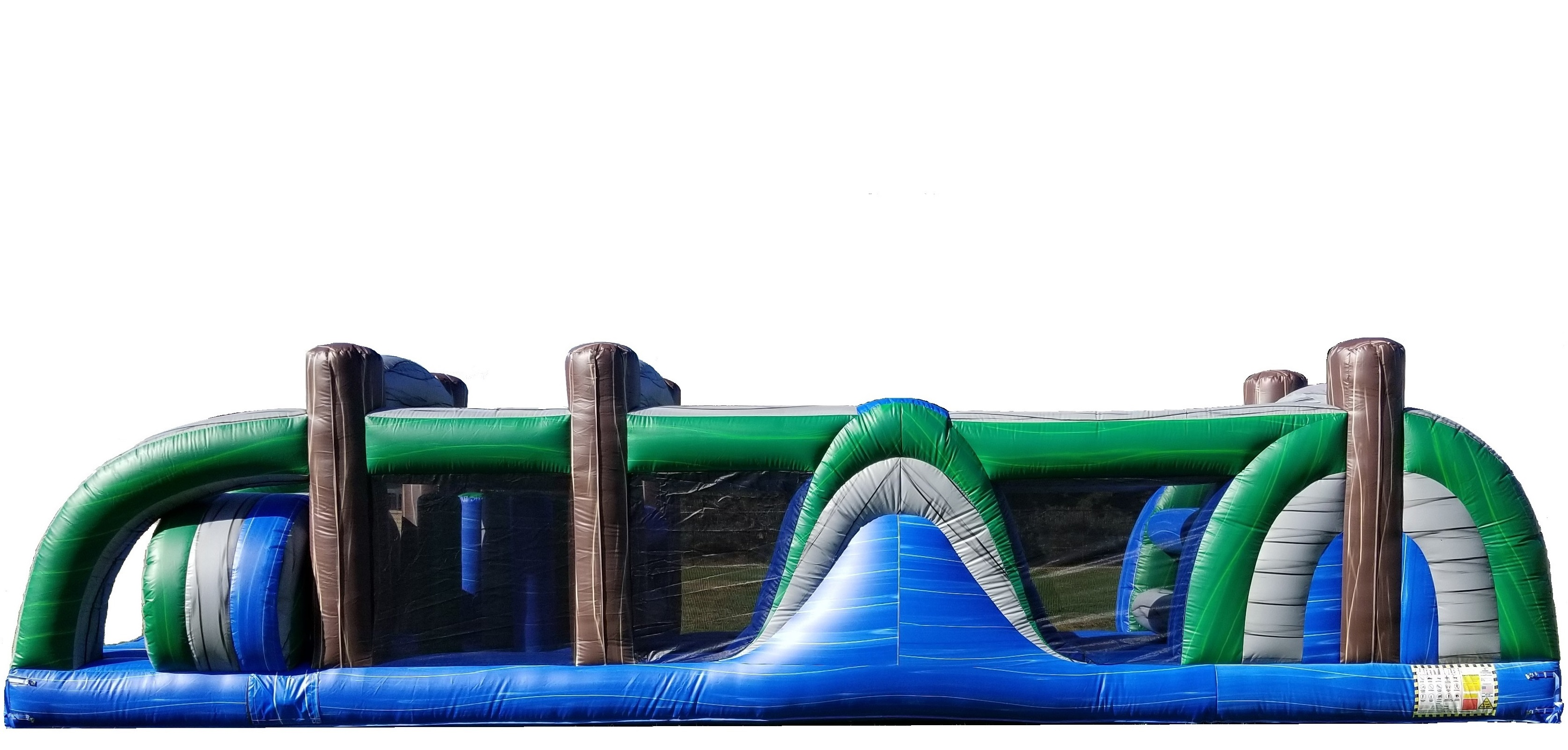 Tropical Colors Obstacle Course Rentals