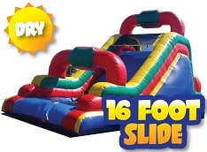 16ft Inflatable Slide Rentals